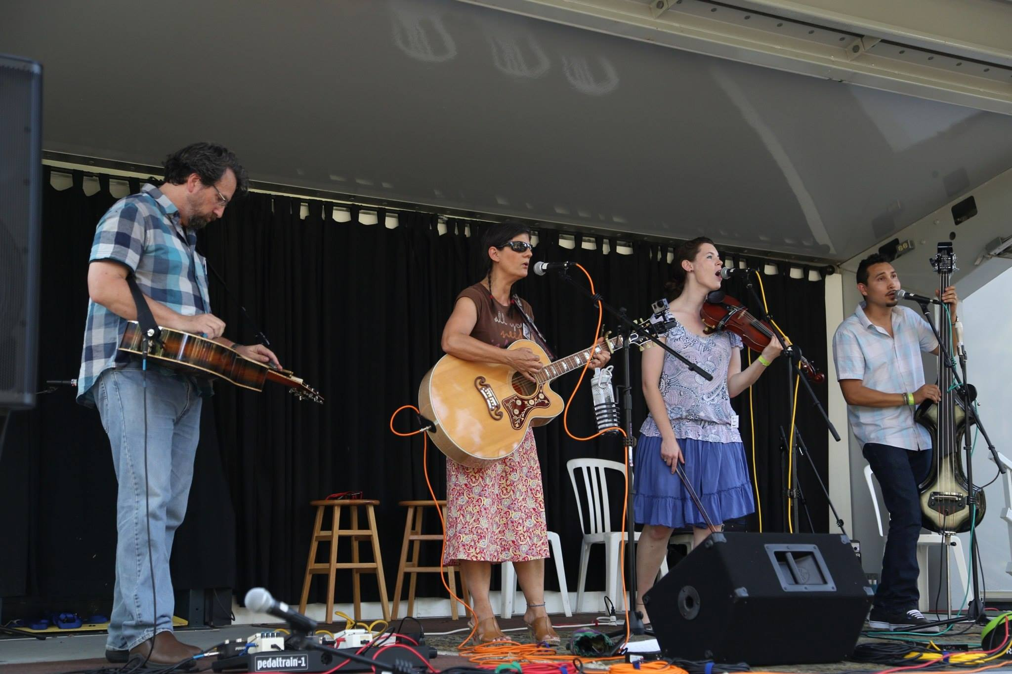 Passerine, on the Azalea Stage, Florida Folk Festival