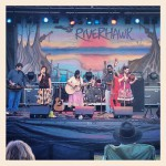 "On the ""Blue Sky"" Stage at Riverhawk Music Festival (11/9/12)"
